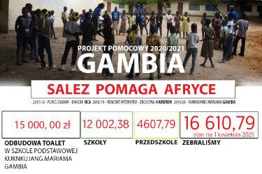 SALEZ POMAGA AFRYCE GAMBIA